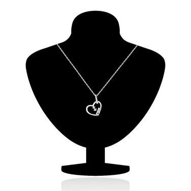 Mahi Rhodium Plated Swarovski Zirconia Pendant Set_Nl3101013c