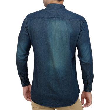 Stylox Full Sleeves Slim Fit Shirt_Rstb203 - Rust Blue