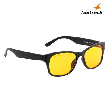 Fastrack 100% UV Protection Sunglasses For Men_Pc001or18 - Yellow