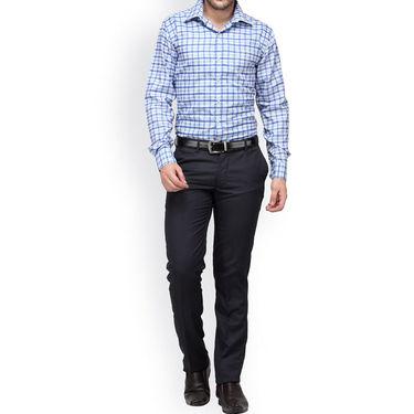 Copperline Cotton Rich Formal Shirt_CPL1151 - Blue