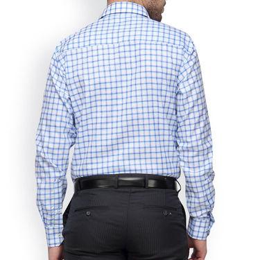 Copperline Cotton Rich Formal Shirt_CPL1155 - White Green