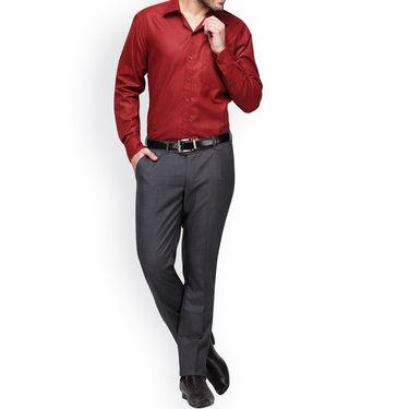Copperline Cotton Rich Formal Shirt_CPL1168 - Red