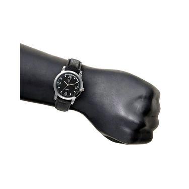 Rico Sordi Analog Round Dial Watch For Men_Rsmwl81 - Black