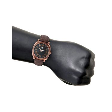 Rico Sordi Analog Round Dial Watch For Men_Rsmwl94 - Black
