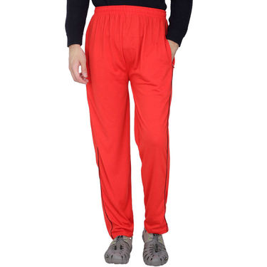 Pack of 2 Fizzaro Regular Fit Trackpants_Fl107108 - Red & Brown