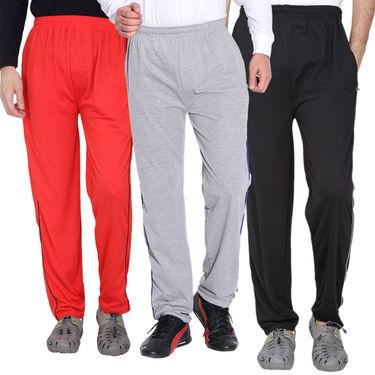 Pack of 3 Fizzaro Regular Fit Trackpants_Fl107101105