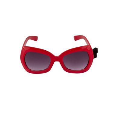 Swiss Design Full Rim Plastic Sunglasses For Unisex_S6474rd - Purple