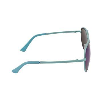 Swiss Design Full Rim Plastic Sunglass For Unisex_S01abl - Mercury Blue
