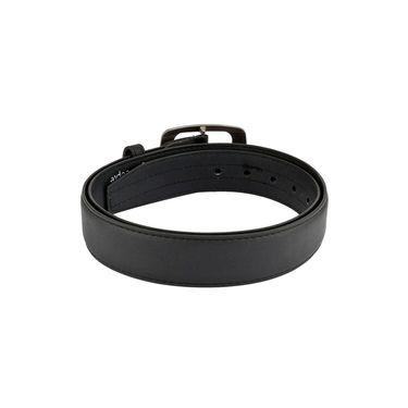 Mango People Leatherite Casual Belt For Men_Mp114bk - Black
