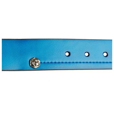 Swiss Design Leatherite Casual Belt For Men_Sd02bl - Blue