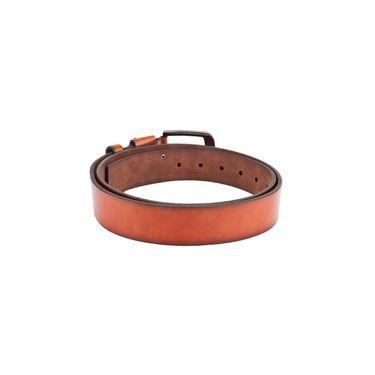 Swiss Design Leatherite Casual Belt For Men_Sd09tn - Tan