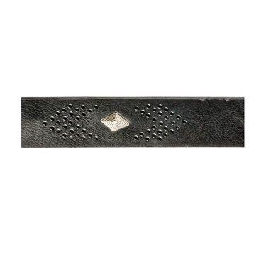 Swiss Design Leatherite Casual Belt For Men_Sd103blk - Black