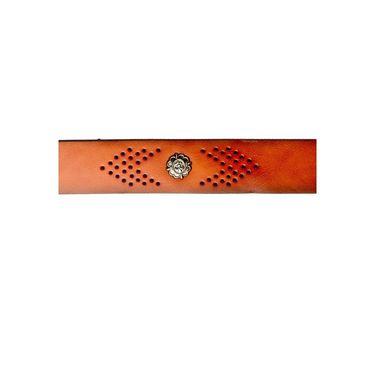 Swiss Design Leatherite Casual Belt For Men_Sd106tn - Tan