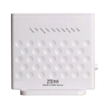 ZTE H108N - 300 Mbps Wireless N ADSL Modem (White)