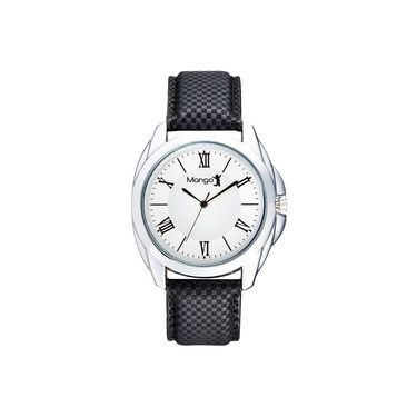 Mango People Round Dial Watch For Men_MP011 - White