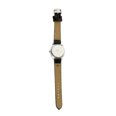 Mango People Round Dial Watch For Women_MP045BK01 - Black