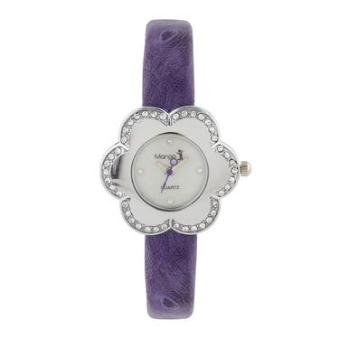 Mango People Round Dial Watch For Women_MP206PR01 - White