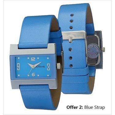 Oleva Analog Wrist Watch For Women_Olw4bl - Blue