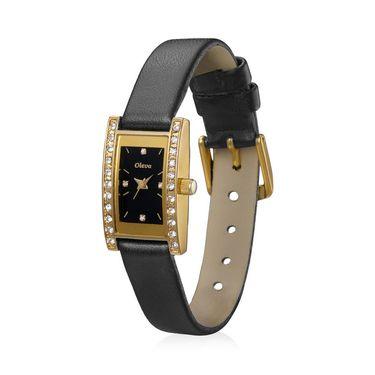 Oleva Analog Wrist Watch For Women_Olw5gb - Gold & Black