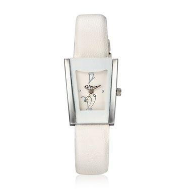 Oleva Analog Wrist Watch For Women_Olw14w - White