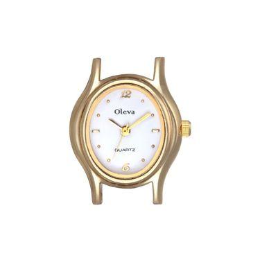 Oleva Analog Wrist Watch For Women_Opw60 - White