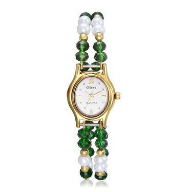 Oleva Analog Wrist Watch For Women_Opw63 - White