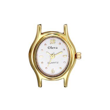 Oleva Analog Wrist Watch For Women_Opw66 - White