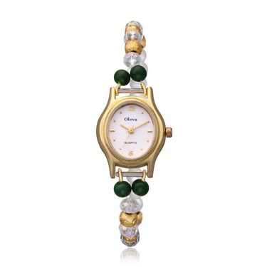 Oleva Analog Wrist Watch For Women_Opw74 - White
