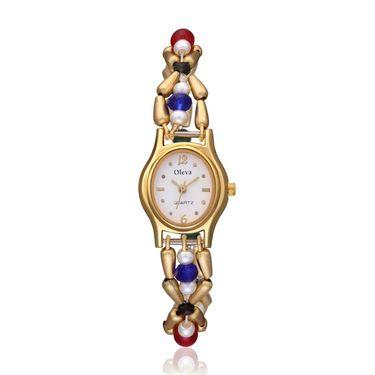 Oleva Analog Wrist Watch For Women_Opw92 - White