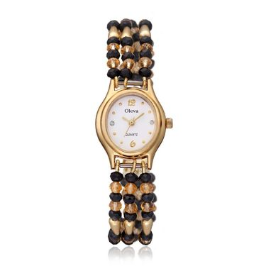 Oleva Analog Wrist Watch For Women_Opw98 - White