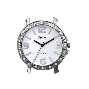 Oleva Analog Wrist Watch For Women_Osw4w - White