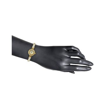 Oleva Analog Wrist Watch For Women_Osw22gw - White