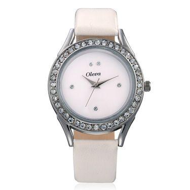 Combo of 3 Oleva Analog Wrist Watches For Women_Ovd178