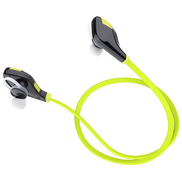 Envent Bluetooth Earphone with Mic - ZapOn ( Green )