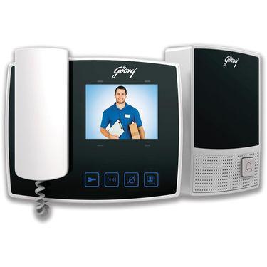 Godrej 3.5-Inch Seethru Video Door Phone Kit (Free Installation)