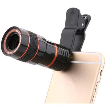 Shutterbugs 12X Optical Zoom Telescope Camera Lens for Mobiles