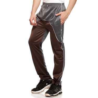 Delhi Seven Regular Fit Trackpant For Men_D7TP006 - Grey & Brown