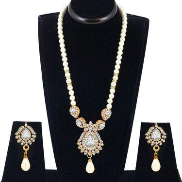 Spargz Alloy Metal Necklace Set_Ains110