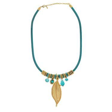 Spargz Alloy Metal Necklace_Mala051