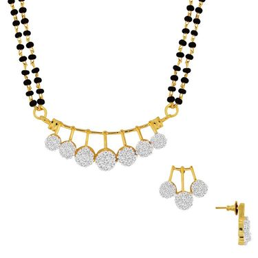 Spargz Brass Metal Mangalsutra Set_Aims055