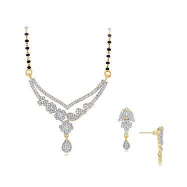 Spargz Brass Metal Mangalsutra Set_Aims071