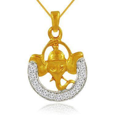 Spargz Brass Metal Pendant_Aip046
