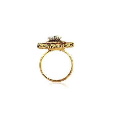 Spargz Alloy Metal Finger Ring_Aifr005