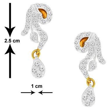Spargz Brass Metal Earring_Aier052