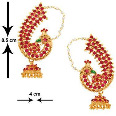 Spargz Brass Metal Earring_Aier290
