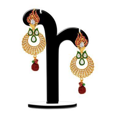 Spargz Brass Metal Earring_Aier388