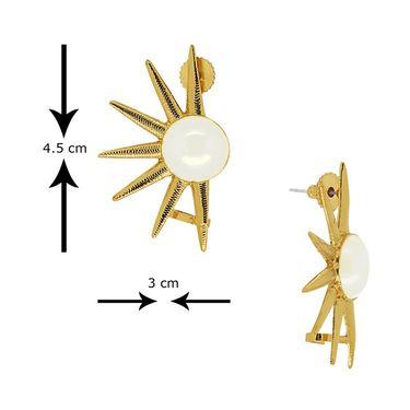 Spargz Brass Metal Earring_Aier397