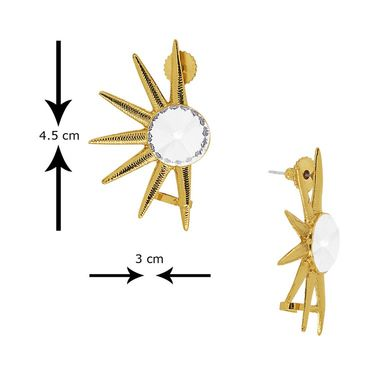 Spargz Brass Metal Earring_Aier398