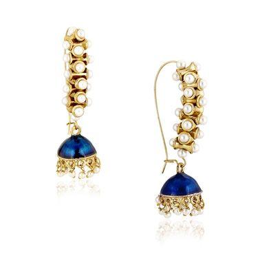 Spargz Brass Metal Earring_Aier408