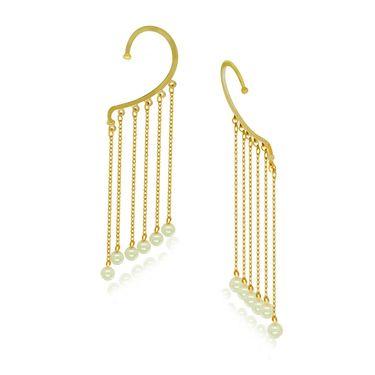 Spargz Brass Metal Earring_Aier426